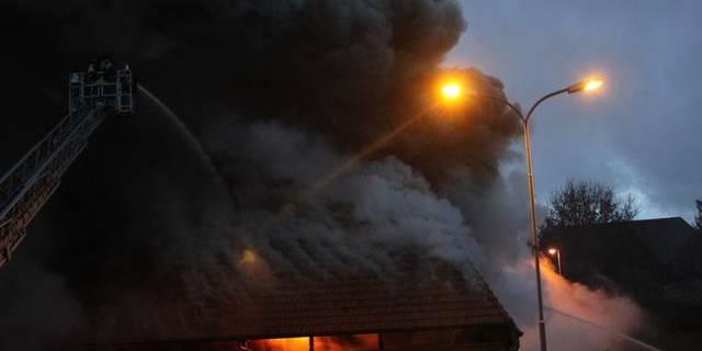 27.12.2012: Brand in umgebauten Bauernhaus